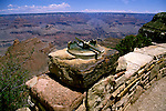 AZ, Grand Canyon National Park, Arizona, sighting instrument at the South Rim.Photo Copyright: Lee Foster, lee@fostertravel.com, www.fostertravel.com, (510) 549-2202.azgran230
