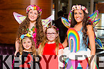 Poppy the potion Fairy, Shauna O Sullivan, Ellie Reed Fitzgerald and Ruby The Rainbow Fairy attending the Business Expo 2015 in Fels Point hotel on Sunday