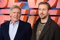 Harrison Ford &amp; Ryan Gosling at the &quot;Blade Runner 2049&quot; photocall at the Corinthia Hotel, London, UK. <br /> 21 September  2017<br /> Picture: Steve Vas/Featureflash/SilverHub 0208 004 5359 sales@silverhubmedia.com