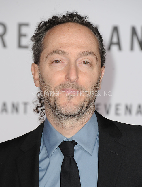 WWW.ACEPIXS.COM<br /> <br /> December 16 2015, LA<br /> <br /> Emmanuel Lubezki arriving at the premiere of 'The Revenant' at the TCL Chinese Theatre on December 16, 2015 in Hollywood, California.<br /> <br /> <br /> By Line: Peter West/ACE Pictures<br /> <br /> <br /> ACE Pictures, Inc.<br /> tel: 646 769 0430<br /> Email: info@acepixs.com<br /> www.acepixs.com