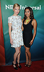 Lauren German and Monica Raymund at the NBC Universal TCA Press Tour 2012 held at the Beverly Hilton Hotel in Beverly Hills, CA. July 24, 2012. © Fitzroy Barrett