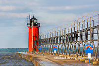 64795-02607 South Haven Lighthouse early morning South Haven,  MI