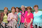 LADIES DAY: Theresa Walsh (Moyvane), Betty Walsh (Listowel), Mary Lynch (New York), Anne Carey (Listowel), Anne Dillon (Ballydonoghue) and Hanna Sweeney (Listowel) having a great day out on Ladies Day at the Listowel Races on Sunday afternoon.
