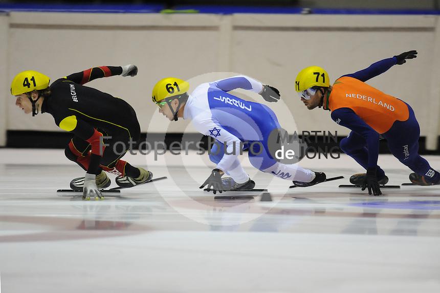 SCHAATSEN: HEERENVEEN; 19-10-2014, IJstadion Thialf, Shorttrack Invitation CupThialf, ©foto Martin de Jong