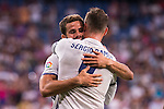 Real Madrid's player Nacho and Sergio Ramos during the XXXVII Santiago Bernabeu Trophy in Madrid. August 16, Spain. 2016. (ALTERPHOTOS/BorjaB.Hojas)