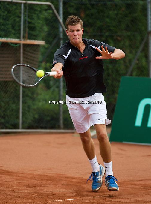 12-08-13, Netherlands, Raalte,  TV Ramele, Tennis, NRTK 2013, National RankingTennis Championships 2013,  Bart van den Berg<br /> <br /> Photo: Henk Koster