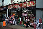 Christmas Factory seasonal discount shop closing down January sale