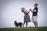 Lianne & RJ's engagement session at Fairvie Park iin Bridgeville, PA on July 12, 2014.