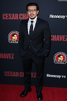 "HOLLYWOOD, LOS ANGELES, CA, USA - MARCH 20: Jacob Vargas at the Los Angeles Premiere Of Pantelion Films And Participant Media's ""Cesar Chavez"" held at TCL Chinese Theatre on March 20, 2014 in Hollywood, Los Angeles, California, United States. (Photo by David Acosta/Celebrity Monitor)"