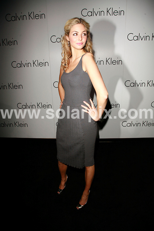**ALL ROUND PICTURES FROM SOLARPIX.COM**.*WORLDWIDE RIGHTS*.Guests attend the unveiling of Martin Creed's Calvin Klein installation, University of Westminister, London, UK, 15th October 2007..This pic: Tamsin Egerton..JOB REF: 5060 GMT   DATE: 15_10_2007.**MUST CREDIT SOLARPIX.COM OR DOUBLE FEE WILL BE CHARGED* *UNDER NO CIRCUMSTANCES IS THIS IMAGE TO BE REPRODUCED FOR ANY ONLINE EDITION WITHOUT PRIOR PERMISSION*