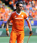 The Hague, Netherlands, June 15: Robert van der Horst #24 of The Netherlands during the field hockey gold match (Men) between Australia and The Netherlands on June 15, 2014 during the World Cup 2014 at Kyocera Stadium in The Hague, Netherlands. Final score 6-1 (2-1)  (Photo by Dirk Markgraf / www.265-images.com) *** Local caption ***