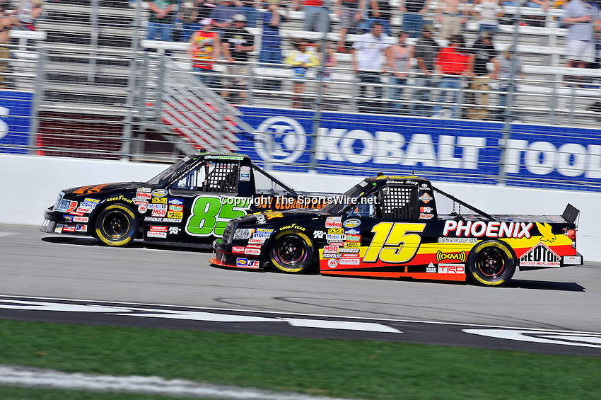 Mar 07, 2009; 2:24:13 PM; Hampton, GA, USA; NASCAR Camping World Truck Series race for the American Commercial Lines 200 at the Atlanta Motor Speedway.  Mandatory Credit: (thesportswire.net)