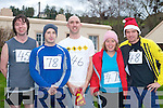 COMPETING: Mike Carmody (Listowel), Derry Prenderville (Castleisland), Darren Enright, Carina Pierse and Paul Pierse (Listowel) who competed in the annual Farranfore/Maine Valley 10km in Farranfore on St Stephen's Day.   Copyright Kerry's Eye 2008