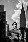 U of A Faculty of Science alumna Rheanna Sand in New York City on August 13, 2016.<br /> Photo credit - John Ulan