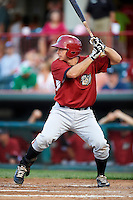 Altoona Curve designated hitter Charlie Cutler #37 during an Eastern League game against the Erie Seawolves at Jerry Uht Park on August 31, 2012 in Erie, Pennsylvania.  Altoona defeated Erie 4-3.  (Mike Janes/Four Seam Images)