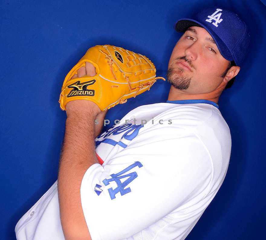 JONATHAN BROXTON, of the Los Angeles Dodgers, during photo day of spring training and the Dodger's training camp in Glendale, Arizona on February 21, 2009.