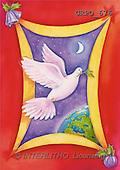 Ioannis, EASTER RELIGIOUS, paintings, dove, globe(GRPO676,#ER#)