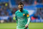FC Barcelona's forward Leo Messi looks on during the match of La Liga between Deportivo Alaves and Futbol Club Barcelona at Mendizorroza Stadium in Vitoria, Spain. February 11, 2017. (ALTERPHOTOS/Rodrigo Jimenez)
