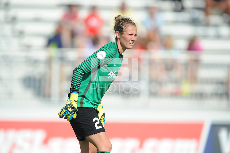 Boyds, MD - Saturday August 12, 2017: DiDi Haracic during a regular season National Women's Soccer League (NWSL) match between the Washington Spirit and the Boston Breakers at Maureen Hendricks Field, Maryland SoccerPlex.