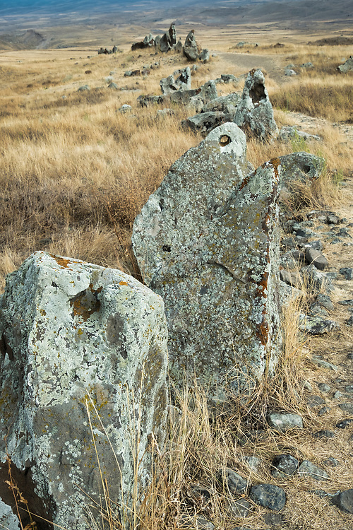Karahunj or Carahunge (also known as Zorats Karer or Armenia's Stonehenge) is 3,500 years older than England's Stonehenge and 3,000 years older than the Egyptian pyramids.