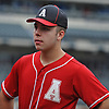 Patrick Abate, catcher and captain of the Amityville varsity baseball team, stands on the outfield grass of Citi Field in Flushing, NY on Saturday, June 23, 2018.