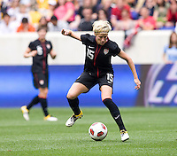Megan Rapinoe. The USWNT defeated Mexico, 1-0, during the game at Red Bull Arena in Harrison, NJ.