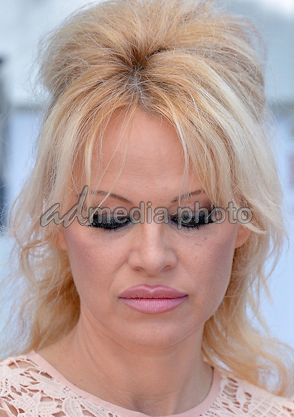"14 May 2016 - Cannes, France - Pamela Anderson at the press conference of ""Sea Shepherd"" during the 69th annual International Cannes Film Festival. Photo Credit: Timm/face to face/AdMedia"