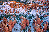 730750012a winter blankets the inspiration point hoodoos with a white cover of snow in bryce canyon national park utah