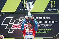Andrea Dovizioso of Italy and Ducati Team during the race of  MotoGP of Catalunya at Circuit de Catalunya on June 11, 2017 in Montmelo, Spain.(ALTERPHOTOS/Rodrigo Jimenez) (NortePhoto.com) (NortePhoto.com)