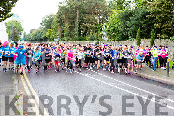 The runners take off at the Killarney Women's mini-marathon on Saturday