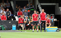 Pictured: David Adams (R) head of coaching Saturday 11 July 2015<br />