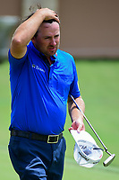 Graeme McDowell (NIR) departs 18 following round 1 of the Valero Texas Open, AT&amp;T Oaks Course, TPC San Antonio, San Antonio, Texas, USA. 4/20/2017.<br /> Picture: Golffile | Ken Murray<br /> <br /> <br /> All photo usage must carry mandatory copyright credit (&copy; Golffile | Ken Murray)