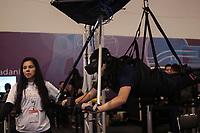 SAO PAULO, SP - 15.02.2019 - CAMPUS PARTY - Movimenta&ccedil;&atilde;o na Campus Party Brasil 2019 nesta sexta-feira (15) no Expo Center Norte na zona norte de Sao Paulo.<br /> <br /> <br /> (Foto: Fabricio Bomjardim / Brazil Photo Press / Folhapress)