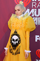 LOS ANGELES - MAR 14:  Poppy at the iHeart Radio Music Awards - Arrivals at the Microsoft Theater on March 14, 2019 in Los Angeles, CA