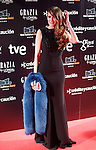 Actress Elena Ballesteros attends Goya Cinema Awards 2014 red carpet at Centro de Congresos Principe Felipe on February 9, 2014 in Madrid, Spain. (ALTERPHOTOS/Victor Blanco)