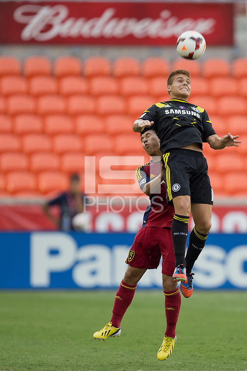 HOUSTON, Texas - July 20, 2013: Real Salt Lake AZ. defeated Solar Chelsea 4-2 to win the 2013 U-15/16 US Soccer Development Academy Championship Final at BBVA Compass stadium.