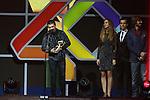 01.12.2016 Barcelona. Los 40 music awards 2016. Juanes premio golden