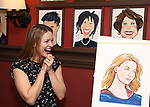 Melissa Benoist during her Sardi's portrait unveiling at Sardi's on July 31, 2018 in New York City.