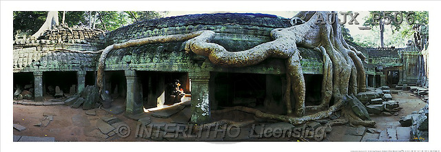 Dr. Xiong, LANDSCAPES, panoramic, photos, Timeless Temple, Angkor, Cambodia(AUJXP506,#L#)