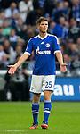 Duitsland, Gelsenkirchen, 22 september  2012.Seizoen 2012/2013.Bundesliga.Schalke 04-Bayern Munchen 0-2.Klaas Jan Huntelaar van Schalke 04 baalt van het spel van Schalke