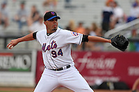 March 21, 2010:  Pitcher Kiko Calero (94) of the New York Mets during a Spring Training game at Tradition Field in St. Lucie, FL.  Photo By Mike Janes/Four Seam Images