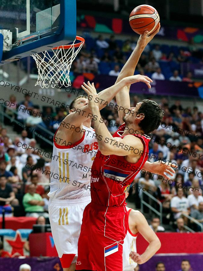 Boban Marjanovic European basketball championship, Evropsko prvenstvo u kosraci Eurobasket Rusija - Srbija, Russia - Serbia 02.9.2017. Istanbul, Turska, 2. Septembar 2017. (credit image & photo: Pedja Milosavljevic / STARSPORT)