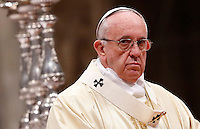 20151212 VATICANO: PAPA FRANCESCO CELEBRA LA BEATA VERGINE MARIA DI GUADALUPE