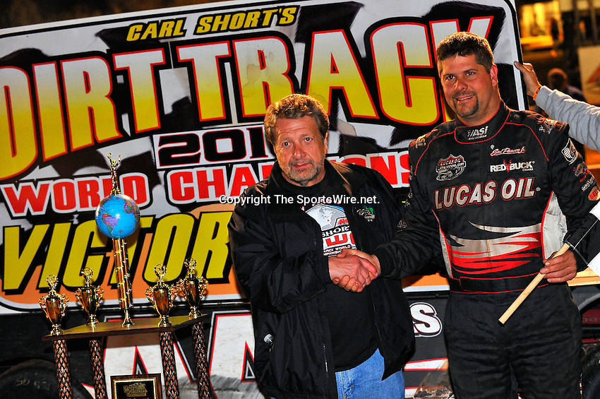 Oct 16, 2010; 11:14:16 PM;Mineral Wells,WV ., USA; The 30th Annual Dirt Track World Championship dirt late models 50,000-to-win event at the West Virginia Motor Speedway.  Mandatory Credit: (thesportswire.net)