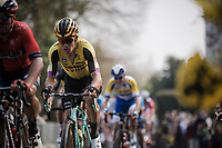 Wout Van Aert (BEL/Jumbo-Visma) up the Kruisberg<br /> <br /> 103rd Ronde van Vlaanderen 2019<br /> One day race from Antwerp to Oudenaarde (BEL/270km)<br /> <br /> ©kramon