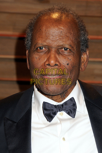 02 March 2014 - West Hollywood, California - Sidney Poitier. 2014 Vanity Fair Oscar Party following the 86th Academy Awards held at Sunset Plaza. <br /> CAP/ADM/BP<br /> &copy;Byron Purvis/AdMedia/Capital Pictures