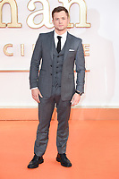 Taron Egerton<br /> arriving for the &quot;Kingsman: The Golden Circle&quot; World premiere at the Odeon and Cineworld Leicester Square, London<br /> <br /> <br /> &copy;Ash Knotek  D3309  18/09/2017