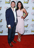 "WESTWOOD, LOS ANGELES, CA, USA - JUNE 21: George Valencia, Judy Reyes at the Los Angeles Premiere Of ""La Golda"" held at The Crest on June 21, 2014 in Westwood, Los Angeles, California, United States. (Photo by David Acosta/Celebrity Monitor)"