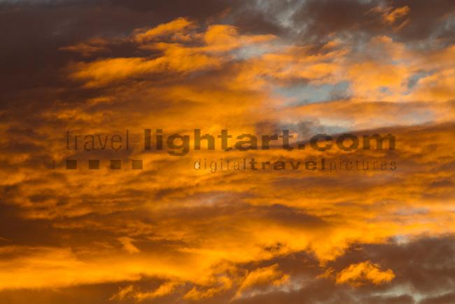 Sunrise, clouds, Sonnenaufgang. Wolken, Güssing, Burgenland, Austria, Österreich