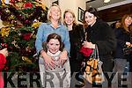 Caoimhe and Brenda Ní Chíobhain (Ballydavid) with Cristina Ní Mhorain and Eilín Ní Chonochúir (Dingle) enjoying Other Voices at the Benners Hotel in Dingle over the weekend.